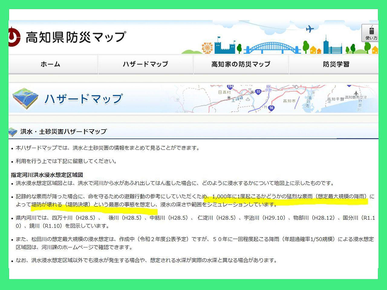 洪水・土砂災害ハザードマップ