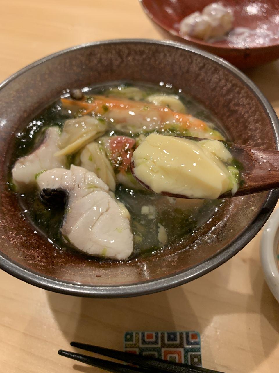 コの字サカバmihokiの茶碗蒸し