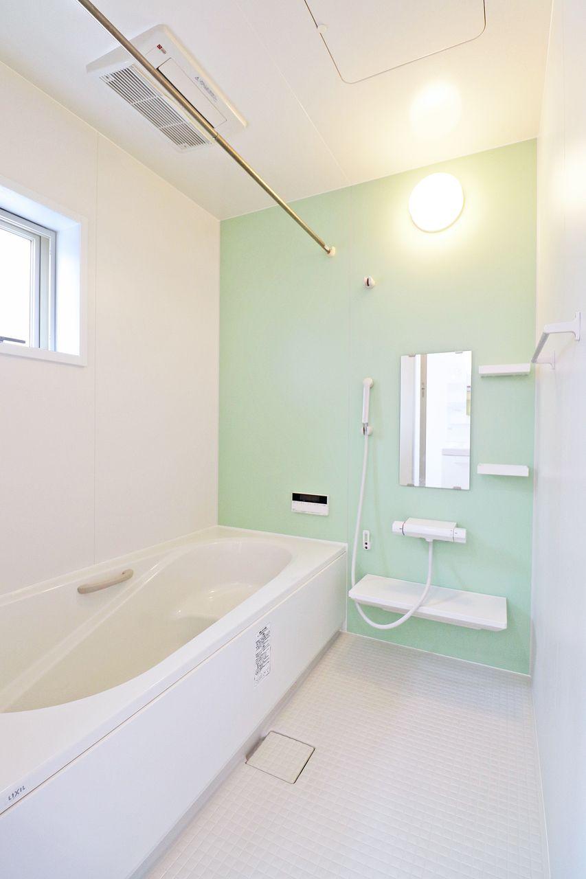 四万十市具同の戸建てプランドール・アンA棟の浴室の画像です