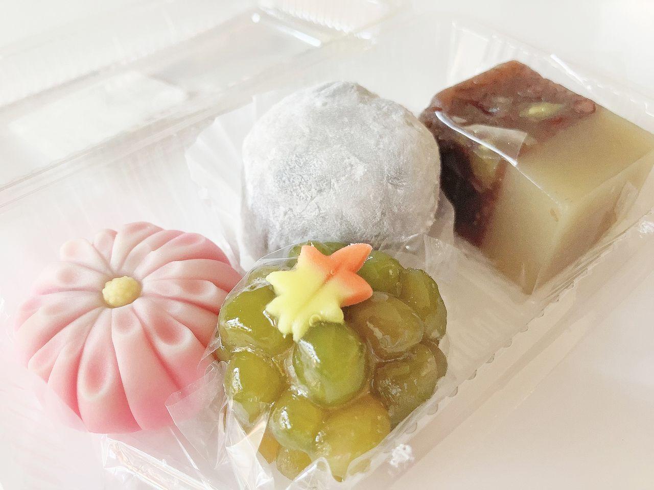 和菓子処おおいしの練り切りなど