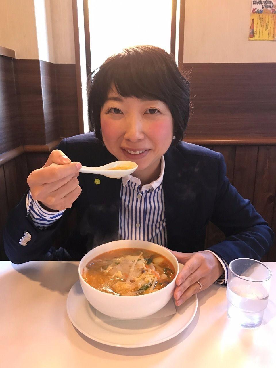 広東李(カントリー)の酸辣湯麺・四万十市のグルメランチ