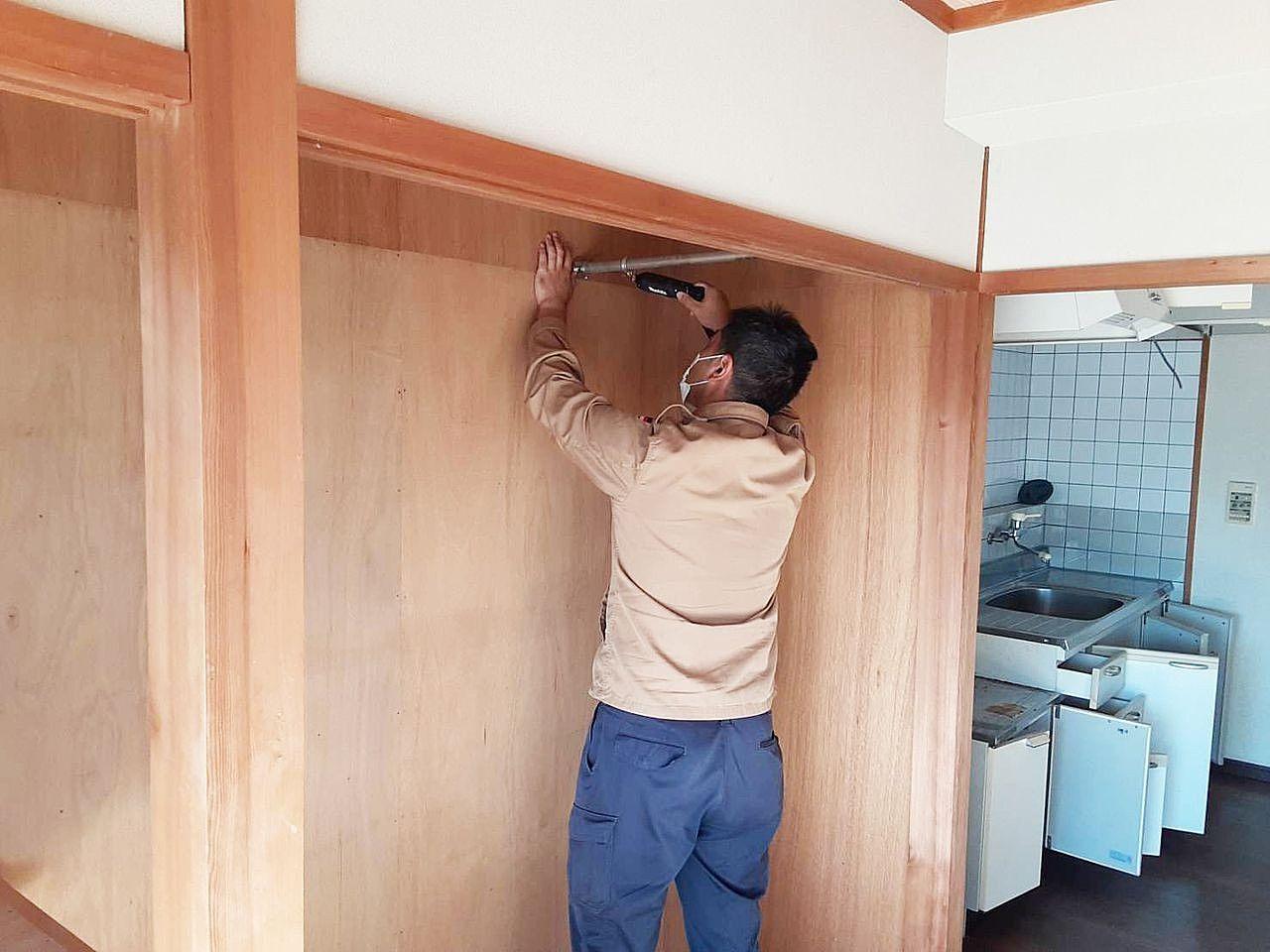 賃貸物件のリフォーム・雑工事・修繕などしています!