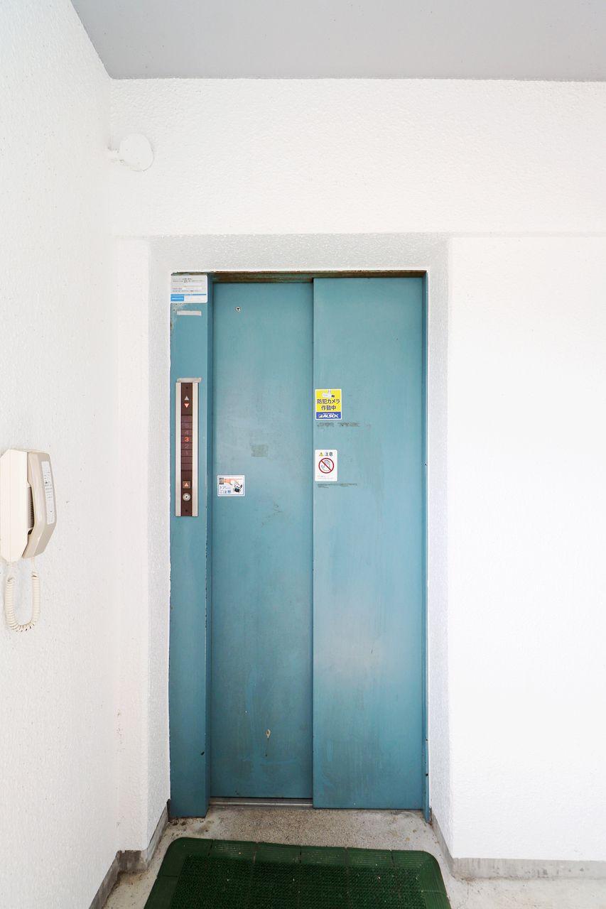 レジデンス今城2号館のエレベーターの画像です