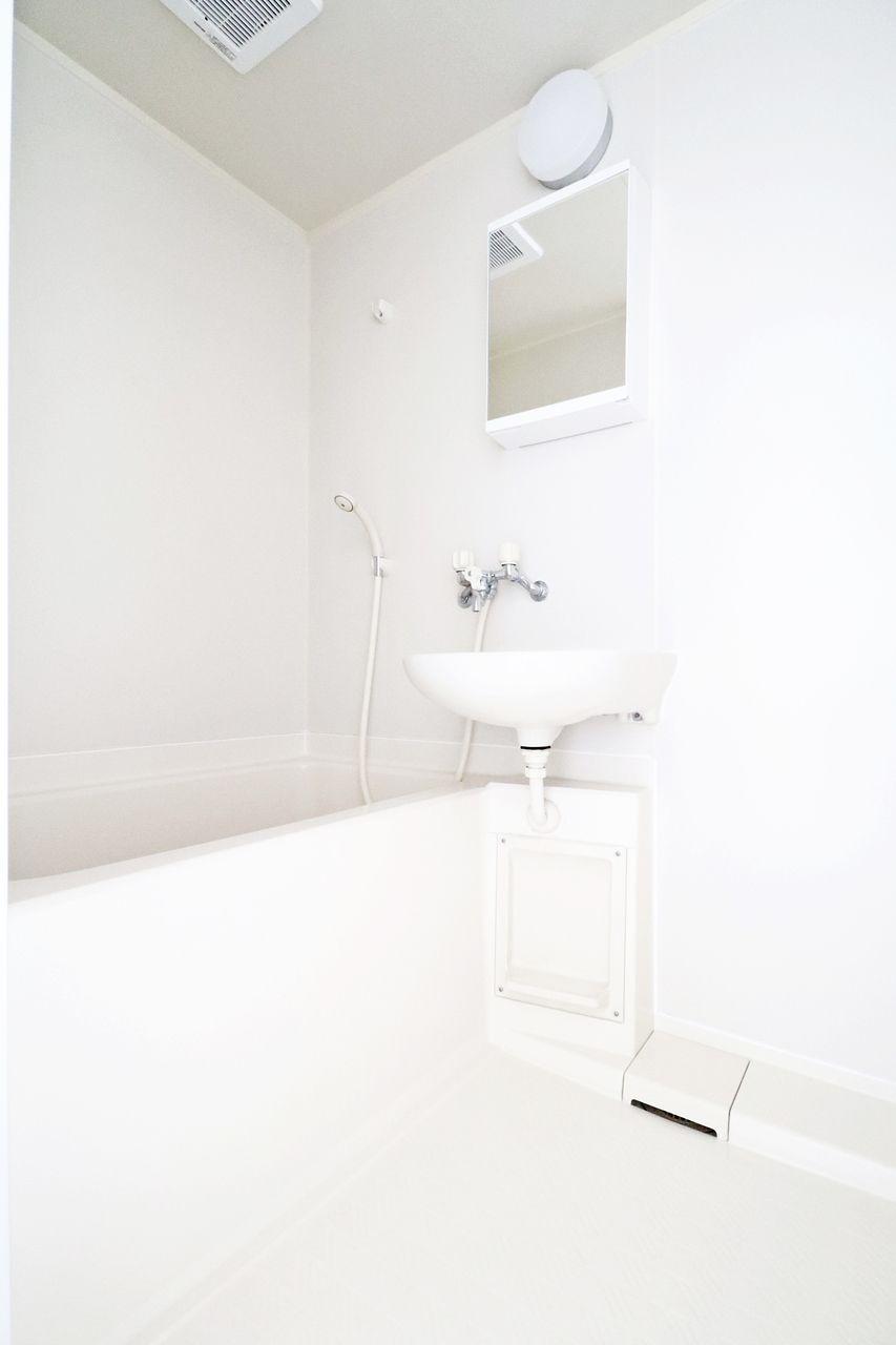 レジデンス今城2号館508号室の浴室の画像です