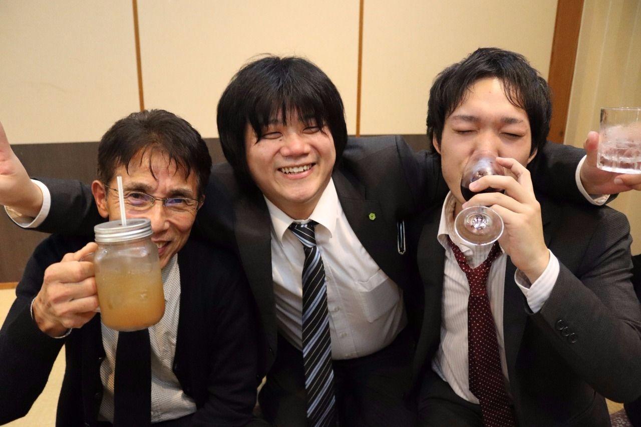 飲み始めです!