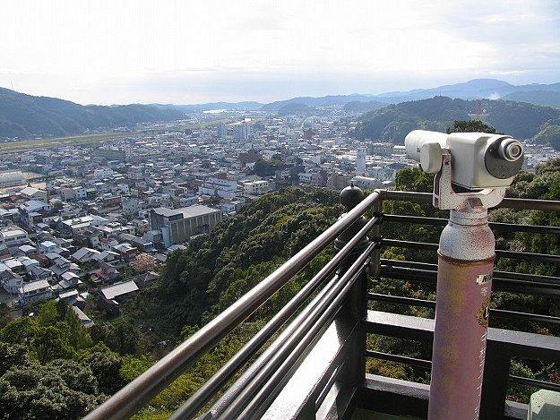 四万十市郷土資料館からの眺め