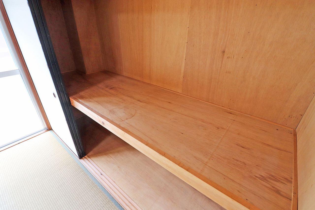 和室にある大容量の押入れです。