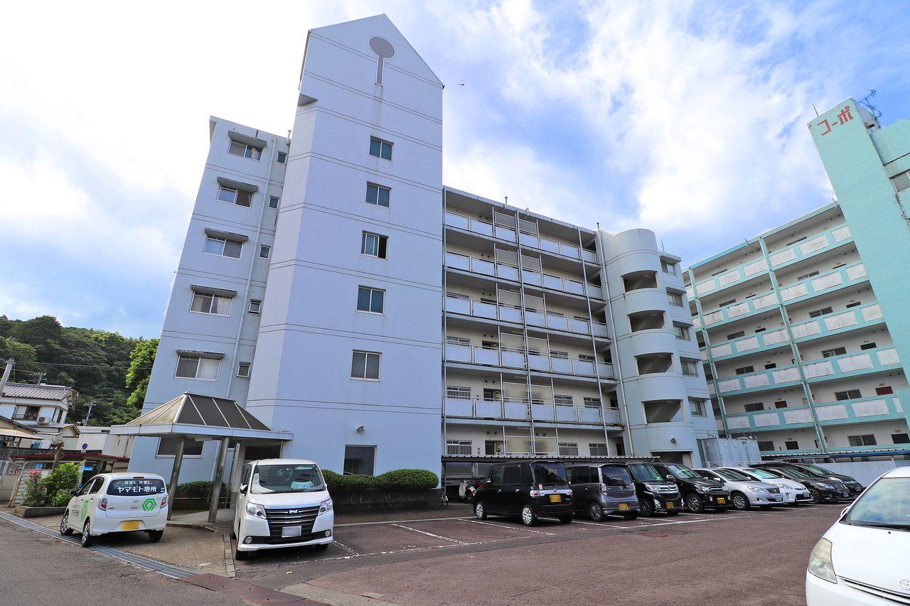 四万十町にあるマンション、コーポ四万十2号館。