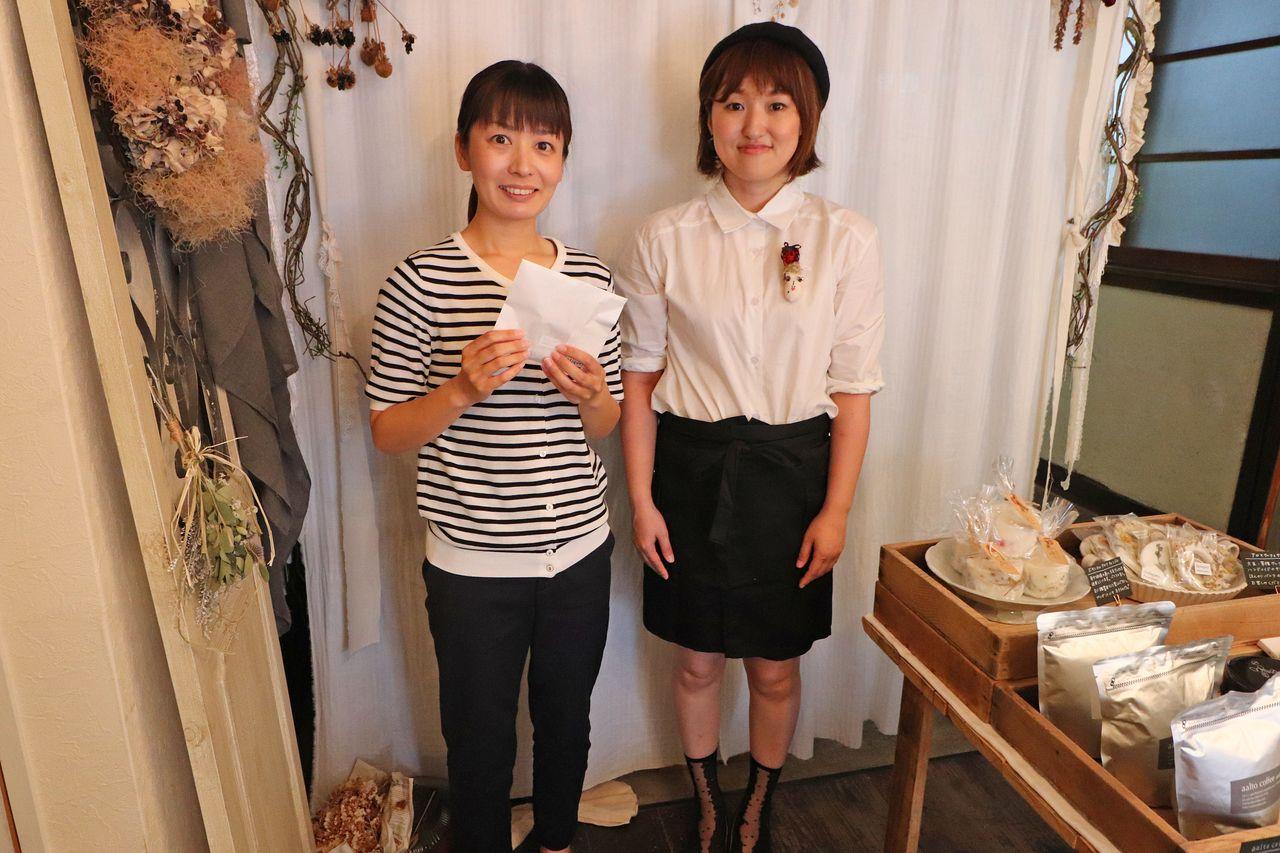野村さんと山岡さんのツーショット。
