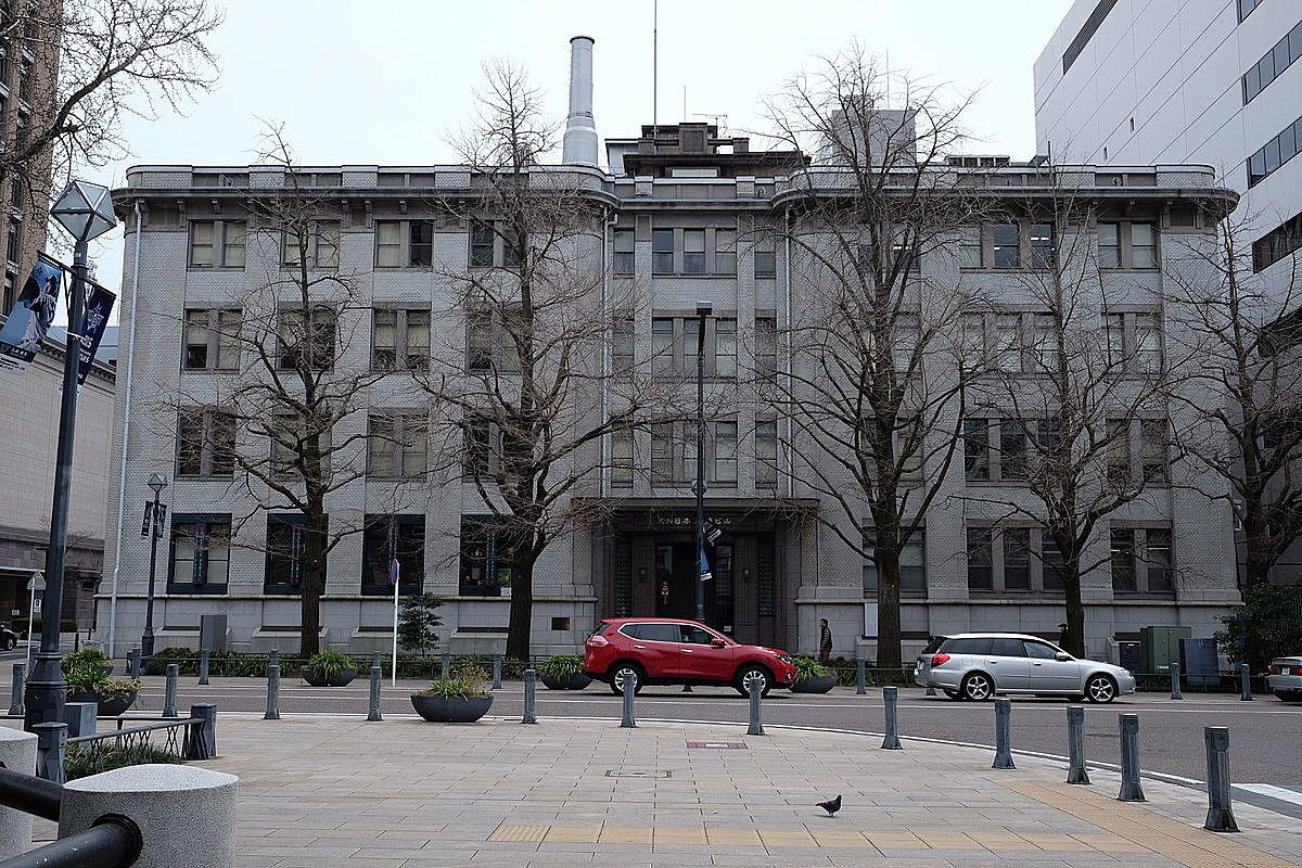 三井物産横浜ビルの外観